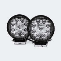 AVEC 27w Round White Work Light Kit