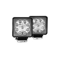 AVEC 27w Square White Work Light Kit