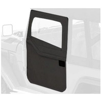 FJ40 2 Piece Fabrick Door Black