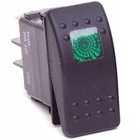 Rocker Switch Green