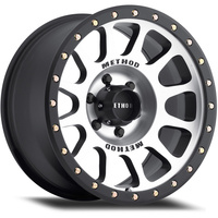 6/5.5 18x9 NV Mach Blk Lip (18P)