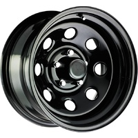 Series 98 Steel Wheel - 6/139.7 15x8  -19mm Offset