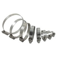 Samco Turbo Hose Clamps - D40 Navara