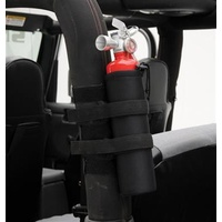 Smittybilt Roll Bar Mounted Fire Extinguisher Holder - 2.5lb