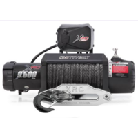 SmittyBilt Winch XRC 9.5K Comp Series With Synthetic Rope