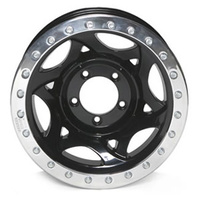 17x8.5 Bead Lock - Black 5/150