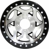 17x8.5 Bead Lock - Machined Black 5/150