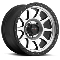 Legacy Street Wheel - Black Mach 6/139.7 17x8.5