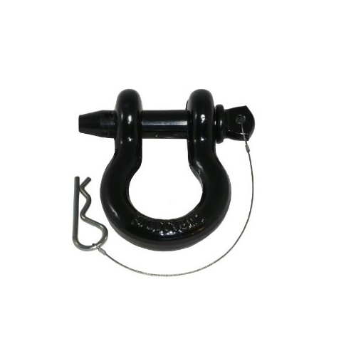 Smittybilt D-Ring Shackle 6.5T with Black Finish